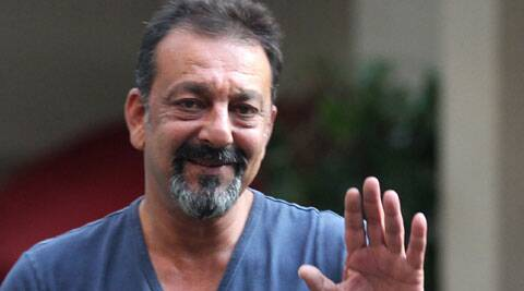 Sanjay Dutt, whose wife Maanyata is currently undergoing medical treatment at a hospital, visited a temple to pray for her recovery.