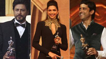 Winners of Screen Awards 2014 – Farhan, Deepika, Shah Rukh Khan