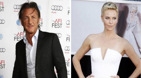 Charlize Theron and Sean Penn were spotted sharing a kiss at a charity event recently. (Reuters)