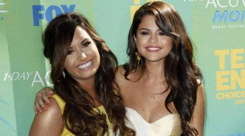 Selena Gomez reveals she is happy to have Demi Lovato back in her life. (Reuters)