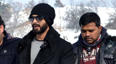 Shahid Kapoor has finally shaved off his head for his upcoming film 'Haider'.