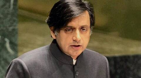 Tharoor said there was a point saying education, health water, energy and road will be a priority. (Source: PTI)