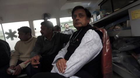 Tharoor has offered to extend full cooperation to the investigation. (Reuters)