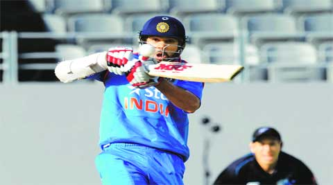 Dhawan was dropped from the fourth ODI after a string of low performances in the recent past.