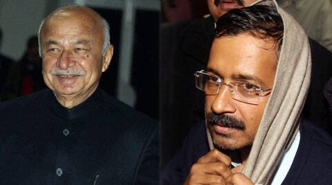"Reports quoted Shinde as saying that he had to cancel leaves of policemen because of a ""yeda Chief Minister"" who sat on agitation."