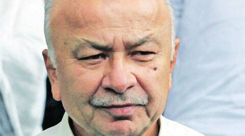 Union Home Minister Sushil Kumar Shinde. (IE)