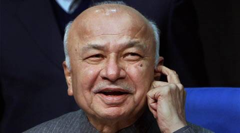 Sushilkumar Shinde rubbished former bureaucrat R K Singh's allegations against him as opporunistic since Singh is now a BJP man.