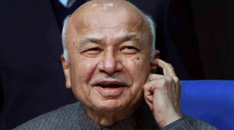 Home Minister Sushilkumar Shinde. (PTI photo)