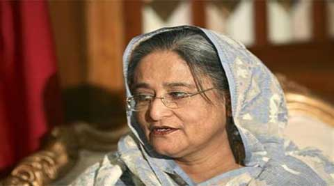 Sheikh Hasina was on Sunday sworn in for her second  straight term as prime minister (Reuters)