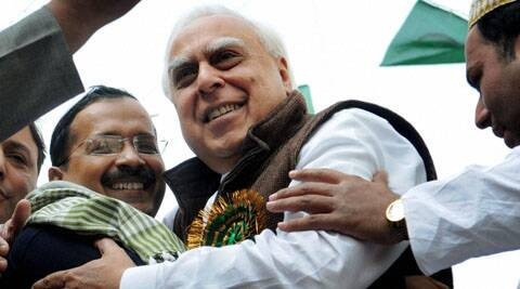 Kapil Sibal said he would be in the fray from Chandni Chowk even if Arvind Kejriwal is his opponent.