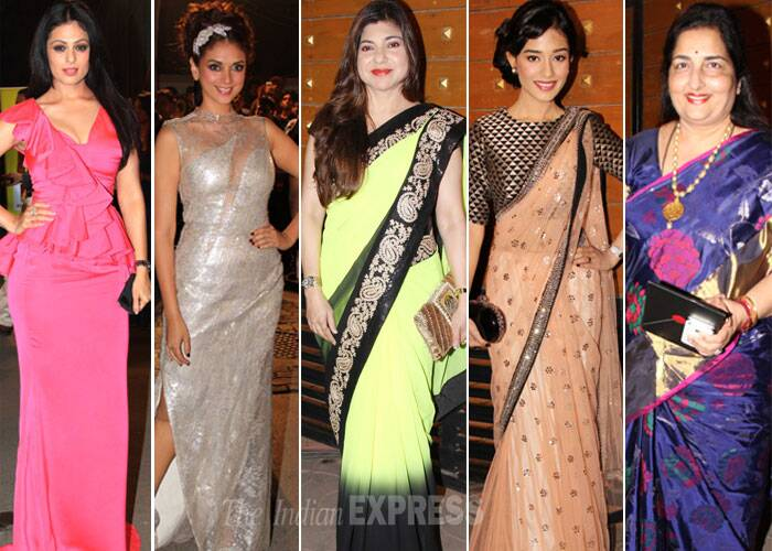 Bollywood biggies glam up the red carpet