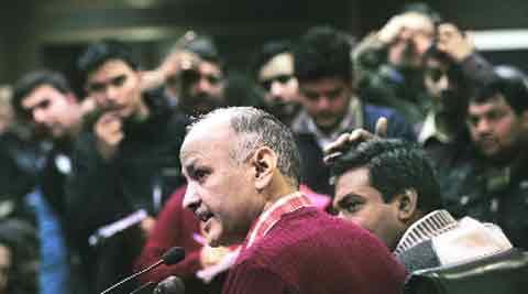 We are not Sheila govt, won't sit quiet: AAP's Manish Sisodia. Praveen Khanna