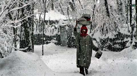 Most places in J&K recorded sub-zero temperatures. (PTI)