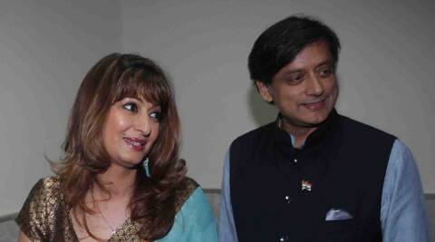 Sunanda's body was found under mysterious circumstances and police believe she could have taken her own life. (Express Archive)