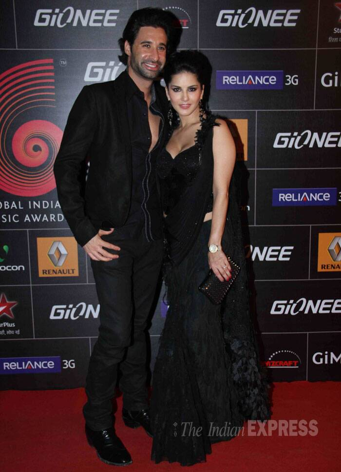 Sunny Leone, who was last seen on screen in 'Jackpot', was joined by her husband Daniel Webber. (Photo: Varinder Chawla)