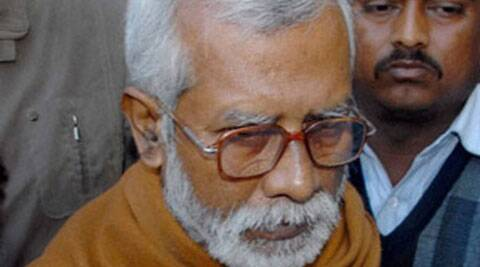 2007 Samjhauta train blast accused Swami Aseemanand. (PTI)