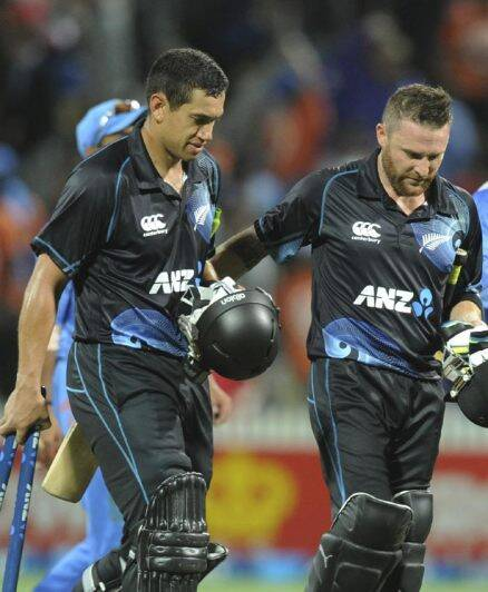 Ton-up Ross Taylor anchors Black Caps to series win