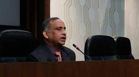 Diplomat Devyani Khobragade's father Uttam Khobragde. (Photo: Praveen Khanna)
