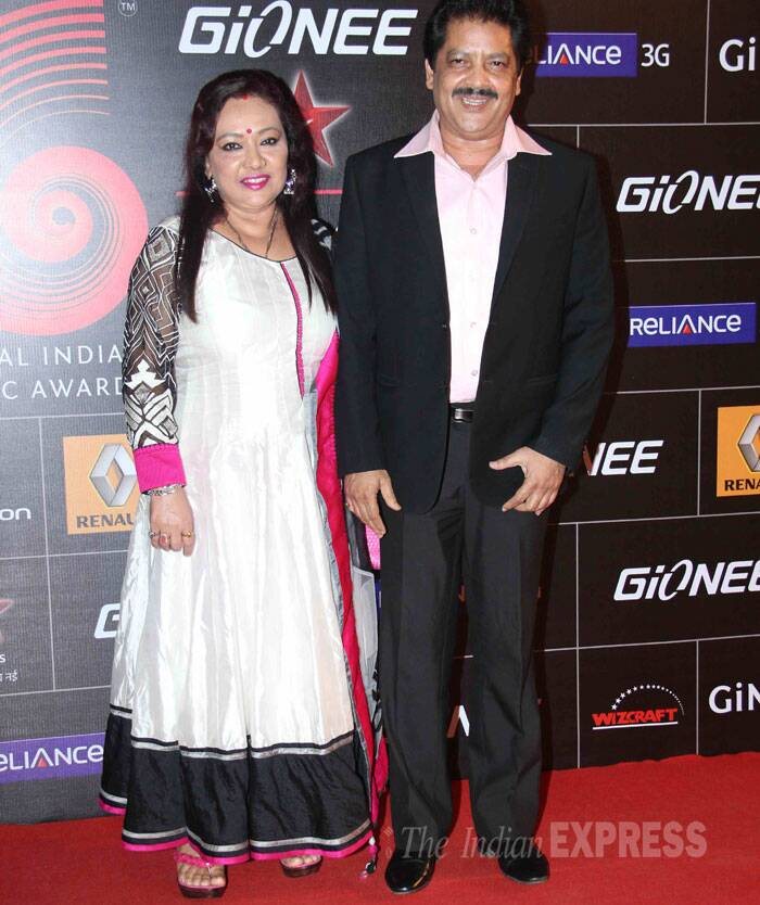 Singer Udit Narayan also made an appearance along with wife Deepa. (Photo: Varinder Chawla)