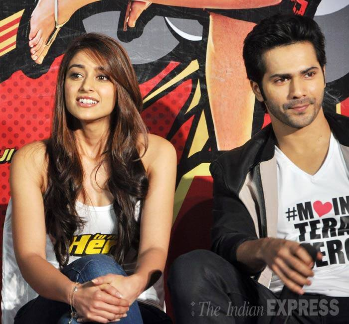 Varun Dhawan will be seen romancing both the girls in the film. (Photo: Varinder Chawla)