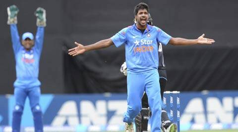 Varun Aaron hasn't made a claim yet, in the few opportunities  he has got (AP)