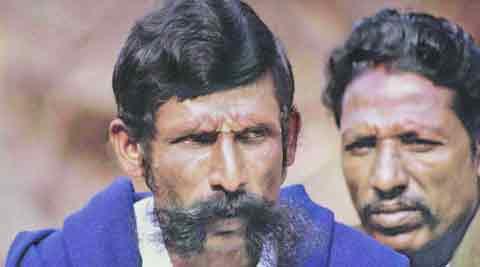 Veerappan, killed in 2004, ran a sandalwood racket across states. IE
