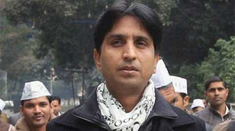 Aam Aadmi Party leader Kumar Vishwas. (File Photo: PTI)