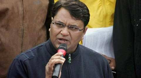 "39-year-old Binny, a former Congressman, had held a press conference on January 16 in which he had attacked Kejriwal and the party leaders, accusing them of ""deviating"" from the core principles of the party."