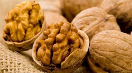 Fill up on walnuts; it has 21% fewer calories than youthought