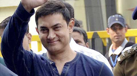 """I want to be away from politics,"" said Aamir Khan."