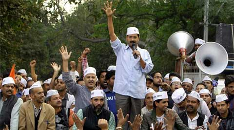 "Philosophically, Kejriwal draws inspiration from ""ancient"" India. (PTI)"