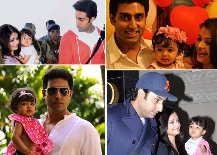 Abhishek and Aishwarya Rai Bachchan have a daughter Aaradhya, who was born on November 16, 2011.