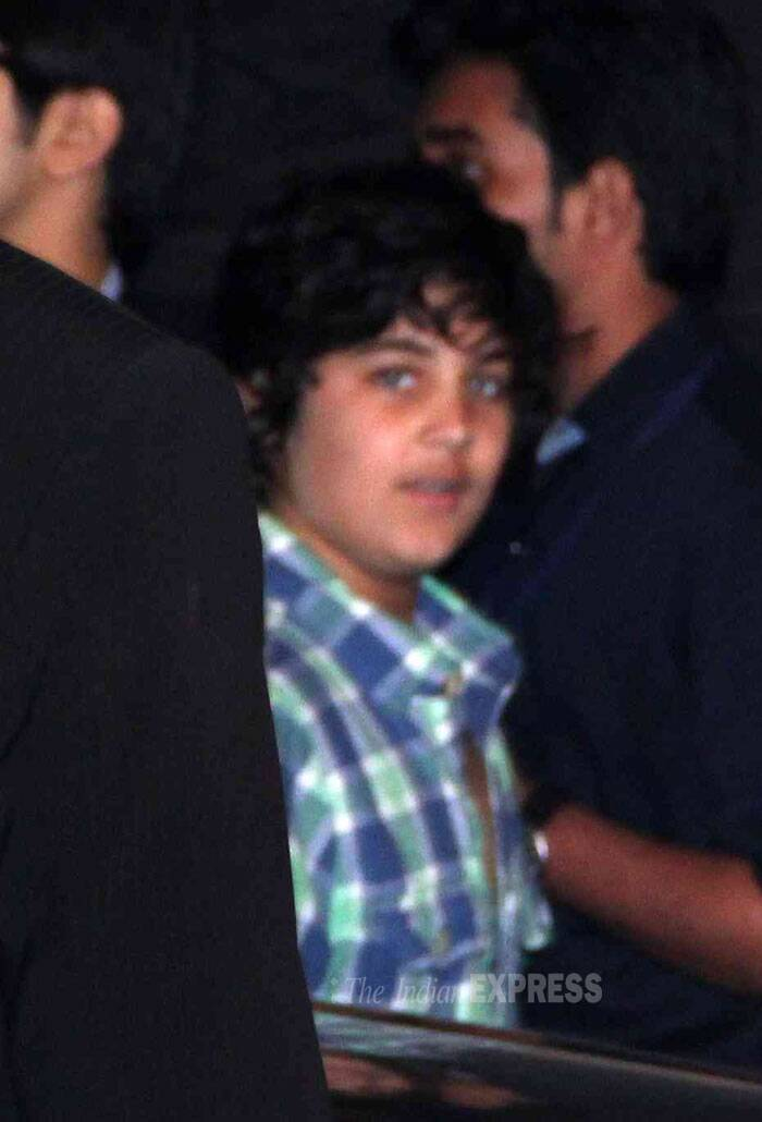 Akshay Kumar's son Aarav was also spotted at the event. (Photo: Varinder Chawla)