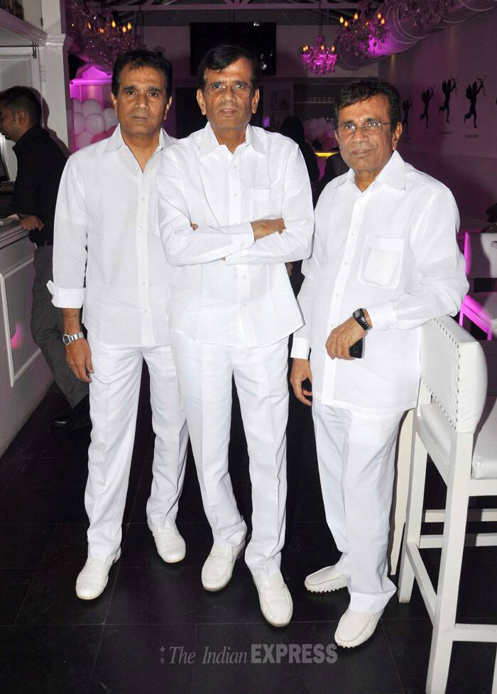 Director trio Abbas, Mustan and Hussain were also present. (Photo: Varinder Chawla)