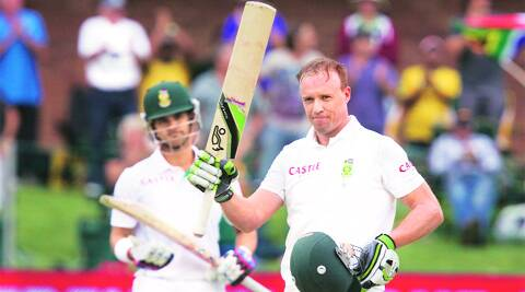 AB de Villiers ended his innings on 116 against Australia on Friday. This, incidentally, was his 12th straight Test with a score over fifty in an innings, a new world record. (Reuters)