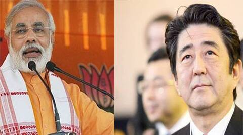 Modi is not an Abe in terms of his inheritance. Abe's biography reads more like that of Rahul Gandhi.