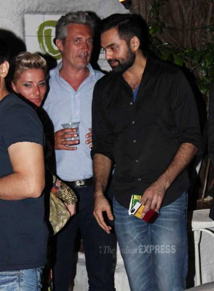 Abhay Deol parties hard
