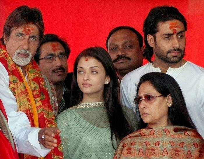 Abhishek Bachchan later fell in love with Aishwarya Rai during the filming of 'Dhoom 2'. The couple announced their engagement on 14 January 2007, which was later, confirmed by Amitabh Bachchan.