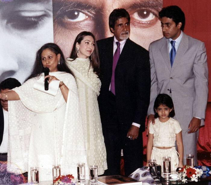 When it comes to Abhishek Bachchan's love life, there were two women who were the most talked about - Karisma Kapoor and Rani Mukerji - besides his wife Aishwarya Rai . <br /><br /> In October 2002, Abhishek and Karisma Kapoor announced their engagement on Amitabh Bachchan's 60th birthday. However, four months later, it was called off. Till today, nobody is sure of what actually went down between the two families.