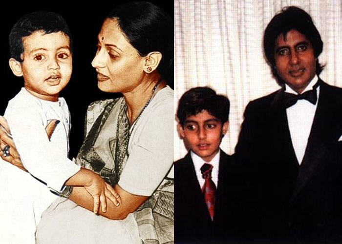 Abhishek Bachchan was always a lookalike of his famous dad, megastar Amitabh Bachchan.