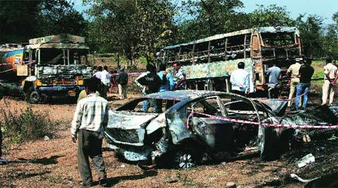 The January 29 accident near a Thane village on Mumbai-Ahmedabad Highway had left eight people dead. (Archive)
