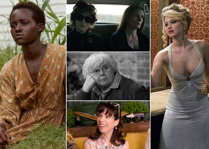 BEST ACTRESS SUPPORTING ROLE<br /><br />Sally Hawkins: Blue Jasmine<br />Jennifer Lawrence: American Hustle<br />Lupita Nyong'o: 12 Years a Slave<br />Julia Roberts: August: Osage County<br />June Squibb: Nebraska