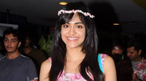 Adah Sharma has kept mum about 'Hasee Toh Phasee' since her part in the film has currently been kept under the wraps.