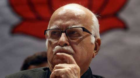 Advani, 86, lashed out at Congress government for being the most corrupt. (PTI)