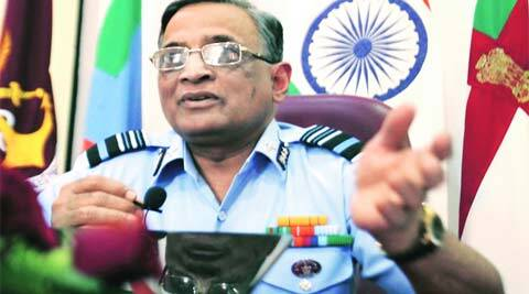 Air Marshal D P Joshi, Director General, AFMS, addresses the media at AFMC on Wednesday.