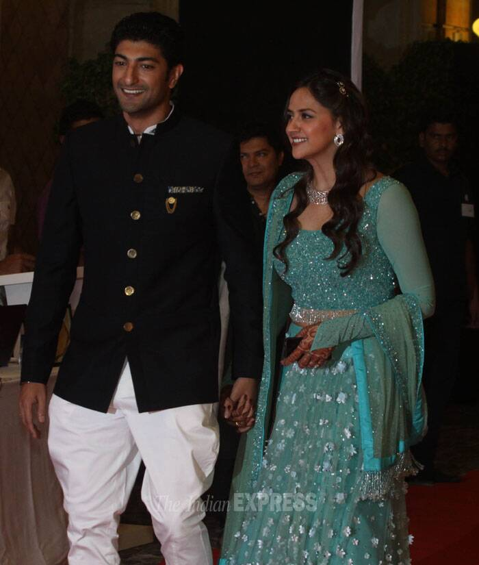 Ahana Deol is all geared up to marry Delhi based fiance Vaibhav Vora on February 2. (IE Photo: Dilip Kagda)