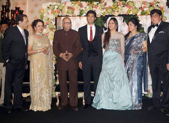 Inside pics of Ahana Deol's Delhi reception