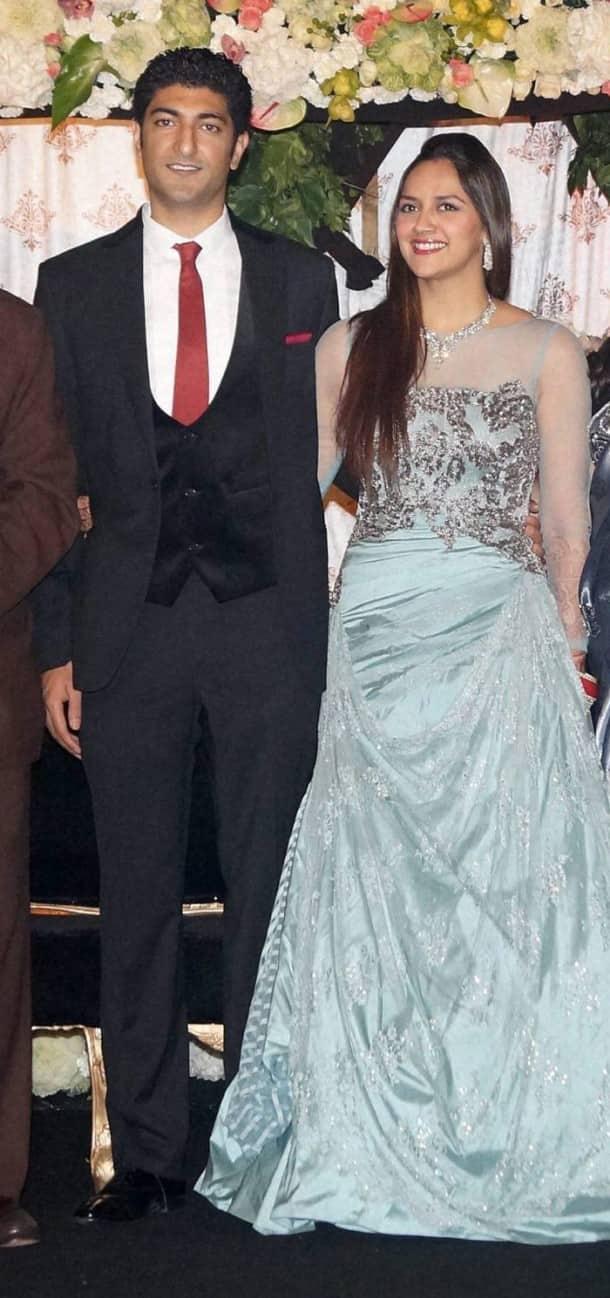 Inside pics of Ahana Deol's Delhi reception