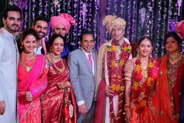 Inside pics of Ahana Deol's big fat Punjabi wedding