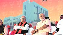 Advani's office stays at BJP's old headquarters in Khanpur